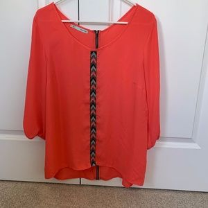 Maurices 3/4 Sleeve Blouse Size M